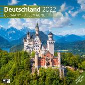 Deutschland Kalender 2022 - 30x30