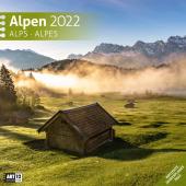 Alpen Kalender 2022 - 30x30