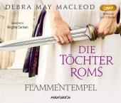 Die Töchter Roms: Flammentempel, 1 Audio-CD, MP3 Cover