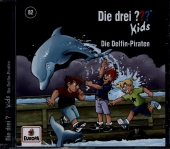 Die drei ??? Kids Delfin-Piraten, 1 Audio-CD Cover