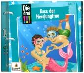 Die drei !!! - Kuss der Meerjungfrau, 1 Audio-CD Cover