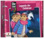 Die drei !!! - Legende der Einhörner, 1 Audio-CD Cover