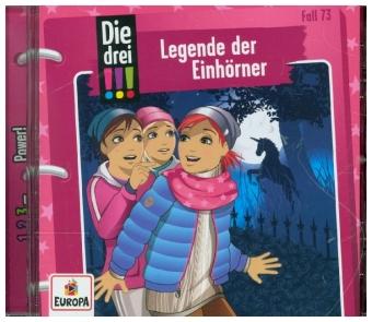 Die drei !!! - Legende der Einhörner, 1 Audio-CD