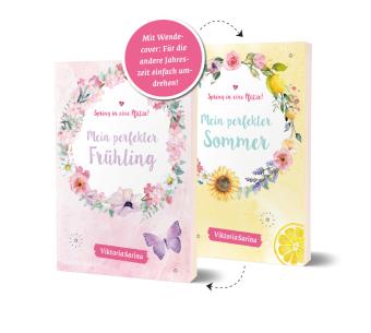 Spring in eine Pfütze! Mein perfekter Frühling/ Mein perfekter Sommer. Wendebuch