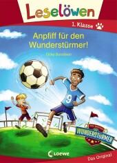 Leselöwen 1. Klasse - Anpfiff für den Wunderstürmer!