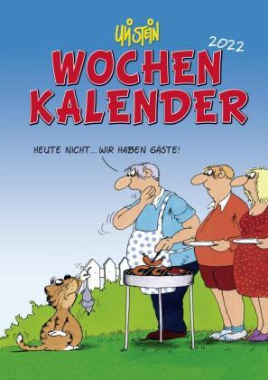 Uli Stein - Wochenkalender 2022