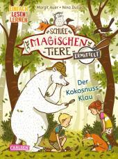 Die Schule der magischen Tiere ermittelt 3: Der Kokosnuss-Klau (Zum Lesenlernen) Cover