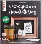 Upcycling trifft Handlettering Cover
