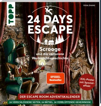 24 DAYS ESCAPE - Der Escape Room Adventskalender: Scrooge und die verlorene Weihnachtsgeschichte. SPIEGEL Bestseller Aut