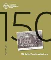 150 Jahre Theater Altenburg