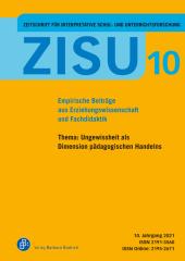 ZISU - Zeitschrift für interpretative Schul- und Unterrichtsforschung