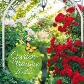 Trötsch Broschürenkalender Gartenträume 2022