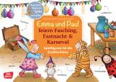 Emma und Paul feiern Fasching, Fastnacht & Karneval., m. 1 Beilage