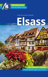 Elsass Reiseführer Michael Müller Verlag Cover