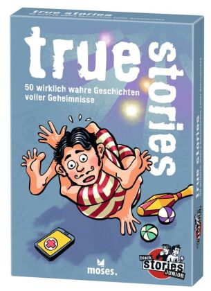 black stories junior - true stories (Spiel)