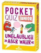 """Pocket Quiz junior Unglaublich, """"aber wahr"""" (Kinderspiel)"""