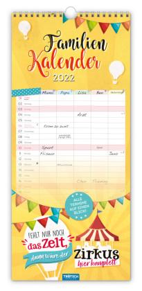 Trötsch Familienkalender Spruchreif 2022