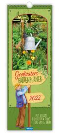 Trötsch Maxi Streifenkalender Großvater´s Gartenplaner 2022