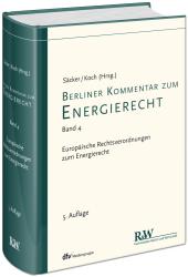 Berliner Kommentar zum Energierecht, Band 4