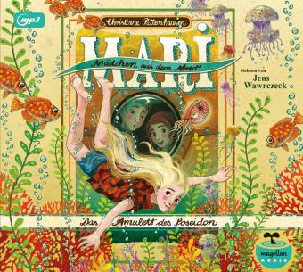 Mari - Mädchen aus dem Meer - Das Amulett des Poseidon (mp3-CD), 1 Audio-CD, 1 MP3