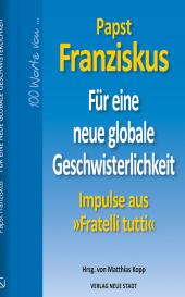 Für eine neue globale Geschwisterlichkeit Cover