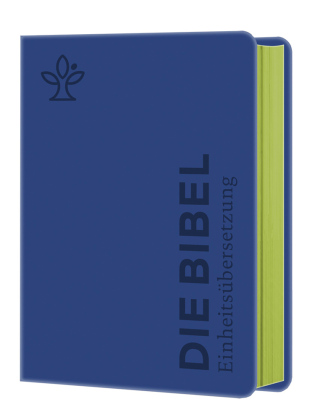 Die Bibel Senfkorn Handschmeichler blau