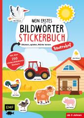 Mein erstes Bildwörter-Stickerbuch - Bauernhof