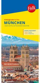 Falk Stadtplan Extra Standardfaltung München 1:20 000