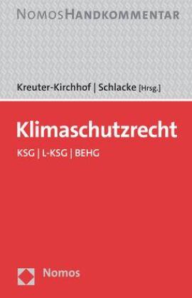 Klimaschutzrecht, Volume 2