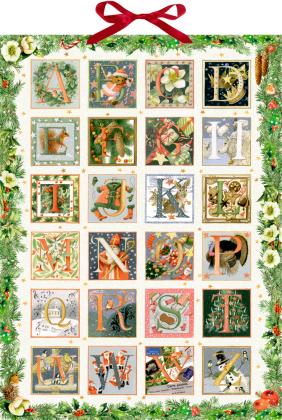 Wandkalender - Zauberhaftes Weihnachts-ABC