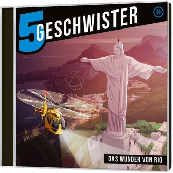 5 Geschwister - Das Wunder von Rio, Audio-CD