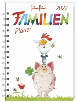 Helme Heine Familienplaner Buch A5 2022