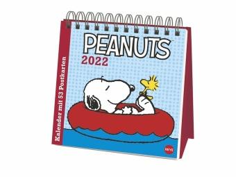 Peanuts Premium-Postkartenkalender 2022