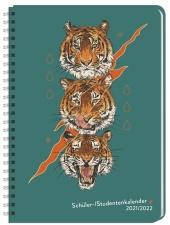 Tiger Schüler-/Studentenkalender A5 Kalender 2022