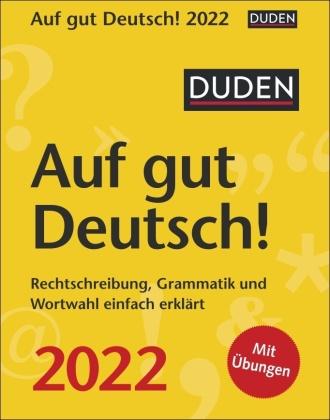 Duden Auf gut Deutsch! 2022