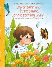 Löwenzahn und Pusteblume, Schmetterling und ich, m. 1 Audio-CD Cover