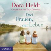 Drei Frauen, vier Leben, 10 Audio-CD Cover
