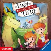 Die Farm der fantastischen Tiere. Voll angekokelt!, 2 Audio-CD Cover