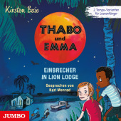 Thabo und Emma. Einbrecher in Lion Lodge, Audio-CD Cover
