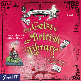 Der Geist in der British Library und andere Geschichten aus dem Folly, 4 Audio-CD