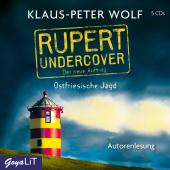 Rupert undercover. Ostfriesische Jagd, 5 Audio-CD Cover