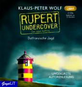 Rupert undercover. Ostfriesische Jagd, 2 Audio-CD,