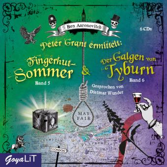 Peter Grant ermittelt: Fingerhut-Sommer  / Der Galgen von Tyburn, 6 Audio-CD