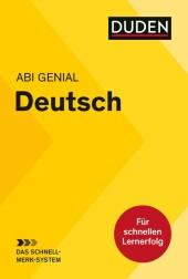 Abi genial Deutsch: Das Schnell-Merk-System