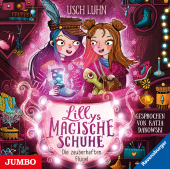 Lillys magische Schuhe - Die zauberhaften Flügel, 1 Audio-CD