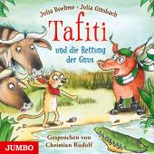 Tafiti und die Rettung der Gnus, 1 Audio-CD Cover