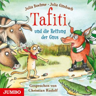 Tafiti und die Rettung der Gnus, 1 Audio-CD