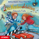 Die Nordseedetektive - Filmreife Falle, 1 Audio-CD Cover