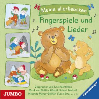 Meine allerliebsten Fingerspiele und Lieder, 1 Audio-CD