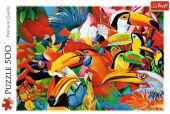 Bunte Vögel (Puzzle)